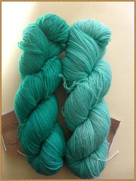 Bluefaced Leicester, handgefärbt