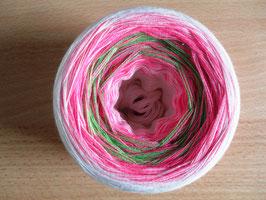 Gefachte Wolle, Farbverlaufswolle, Bobbel, 5-fädig
