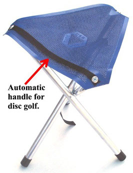 Camptime DISC GOLF ROLL-A-STOOL®