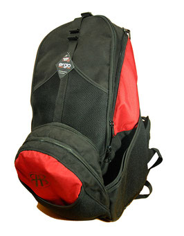 Big Hyzer Bags ERGO 1 (schwarz-rot)