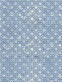 Geometrie blau