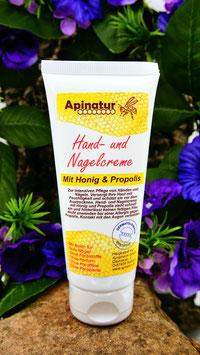 Hand- und Nagelcreme mit Honig/Propolis 100ml
