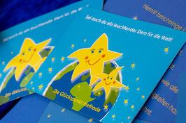 """Postkarte """"Sei auch du ein leuchtender Stern"""""""