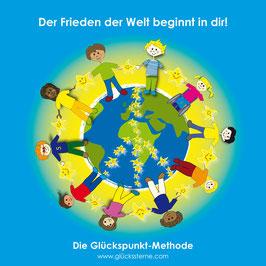 """Postkarte """"Der Frieden der Welt beginnt in dir!"""""""