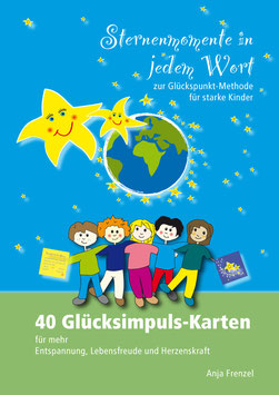 """PDF-Vorlagen für 40 Glücksimpuls-Karten """"Sternenmomente in jedem Wort"""""""