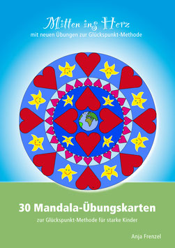 Über 30 Mandala-Übungskarten zur Glückspunkt-Methode - PDF-Vorlage