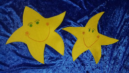 Sterna und der Kleine Stern als HANDPUPPE