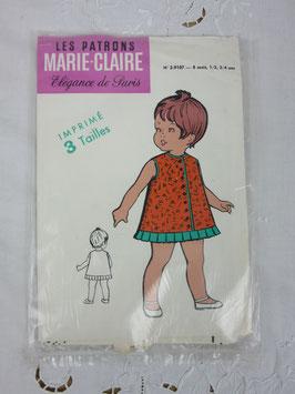 Patron Marie-Claire enfant n°2-9107