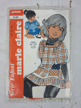 Patron Marie-Claire enfant n°21.027