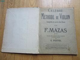 Célèbre méthode de violon, Mazas