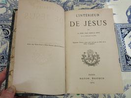 L'intérieur de Jésus, Grou, 1875
