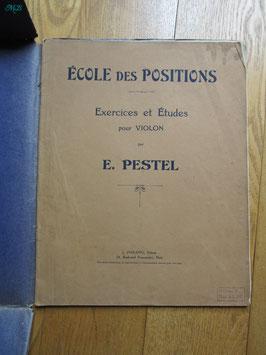 Exercices et études pour violon, Pestel