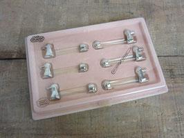 Porte-couteaux vintage chien
