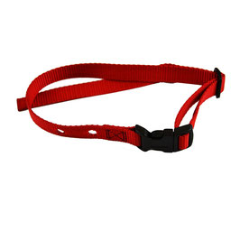 DFG Red Adjustable Nylon Replacement Collar  (Quick Release)