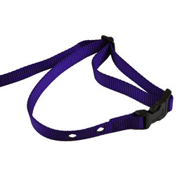 DFG Purple Adjustable Nylon Replacement Collar  (Quick Release)