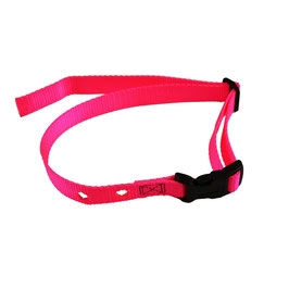 DFG Pink Adjustable Nylon Replacement Collar  (Quick Release)