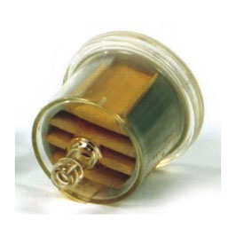 Filtre essence universel tuyau 6,4 mm, micron 80
