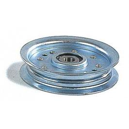 Poulie à gorge plate Ø 102 mm. Ø rebord 117 mm