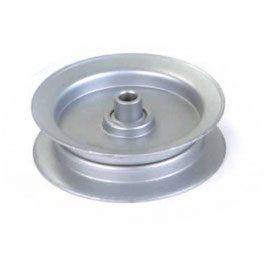 Poulie à gorge plate Ø 79 mm. Ø rebord 102 mm