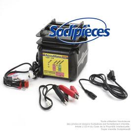 Chargeur pour 12/24V, AGM, GEL et conventionnelles - Courant de charge: 4A
