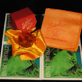Pirastro - Evah Pirazzi Violinstrings SET + Laubach Rosin for Violin + Laubach Cleaning and Polishing Cloth