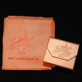 Канифоль Laubach золотая для скрипки и альта - Solo + LAUBACH-High-Tech- платочек купить.