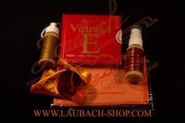 Virtuoso для скрипки Larsen + Laubach Gold канифоль +  платочек + 2 чистящих средства