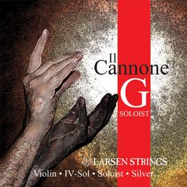 IL Cannone Larsen - струны для скрипки, +  золотая канифоль Laubach + уходовая полиуретановая безворсовая салфетка купить в наборе
