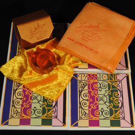 Pirastro - Passione SOLO Violinstrings SET + Laubach Gold Rosin for Violin + Laubach Cleaning and Polishing Cloth