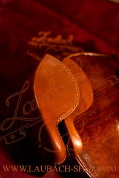 Подбородник для скрипки с  чехлом и протектором из натуральной кожи
