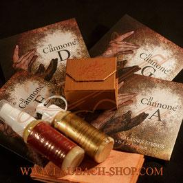 IL Cannone Larsen струны для скрипки + Gold канифоль + средство глубокой очистки + скрипичный полироль + полиуретановый платочек для скрипки купить.
