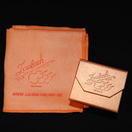 LAUBACH-High-Tech- платочек+ Канифоль Laubach золотая для скрипки и альта купить