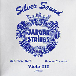 Комплект струн для альта Jargar голубой: серебро 4/4 купить