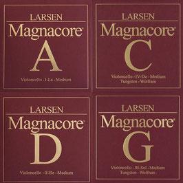 Струны Ларсен для виолончели Magnacore
