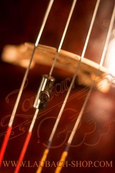 Волкодавка для виолончели трубчатая, цвет титановый -  купить
