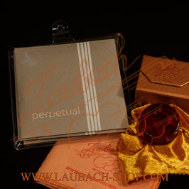 Perpetual strings EU Violin SET Mittel Envelope Pirastro E-platinum 26 + Laubach Gold Rosin for Violin