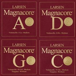 Полный комплект Magnacore Arioso для виолончели, Larsen купить   - натяжение среднее Medium