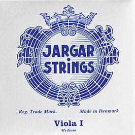 JARGAR CLASSIC- комплект струн для альта Jargar голубой: хром-сталь 4/4 купить