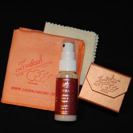 LAUBACH-High-Tech- платочек купить + Канифоль Laubach золотая для виолончели + LAUBACH профессиональное средство для чистки и полировки