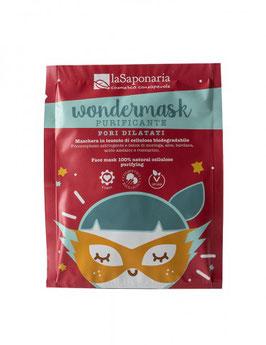 Wondermask - maschera in tessuto purificante La Saponaria