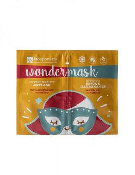 Wondermask - maschera 2 steps beauty anti age La Saponaria