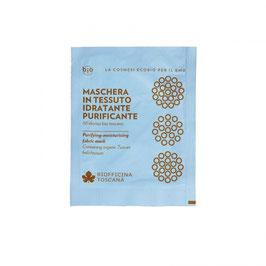 Maschera in tessuto idratante-purificante Biofficina Toscana
