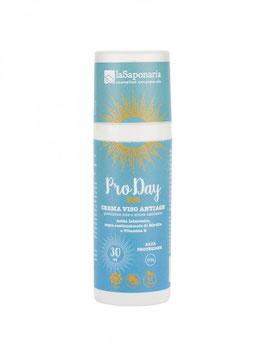 NEW BIO PRO DAY - Crema viso antiage alta protezione sole e stress ossidativo La Saponaria