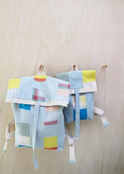 patchwork bagpack