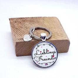Schlüsselanhänger Lieblings Freundin