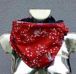 Loop rot mit Kolibri (ohne Fleece) Einzelstück