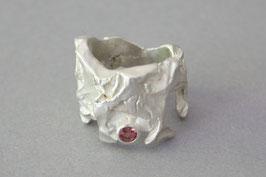 Ring Lupo Modell 4 rosa Turmalin Unikat Gr. 56
