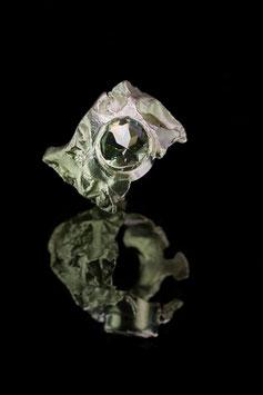 Ring Lupo 925 Silber mit Prasiolith