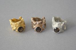 Ring Lupo Modell 4 mit Rauchquarz
