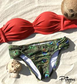 Bikini Pavo Rojo
